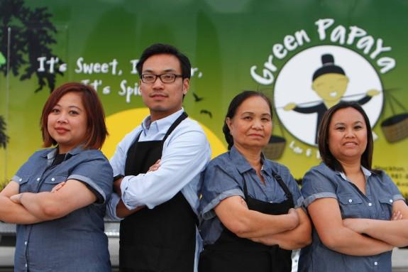Green Papaya Ready to Serve
