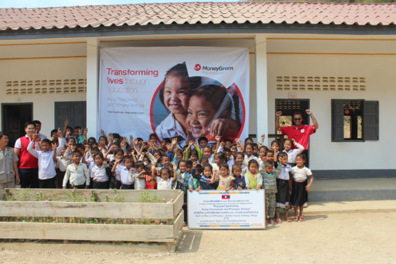 MoneyGram Foundation Celebrates Completion of School in Laos